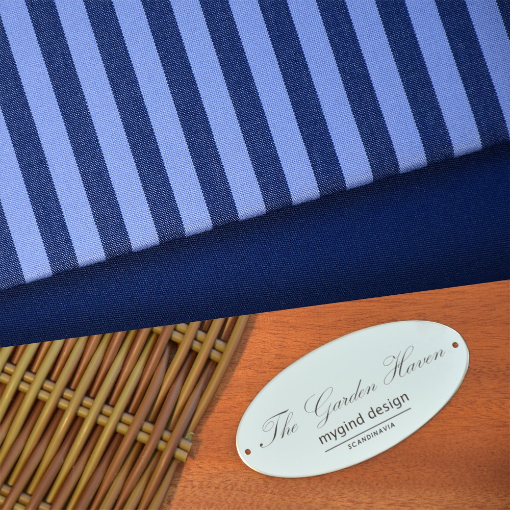 Hampton Blue Stripe