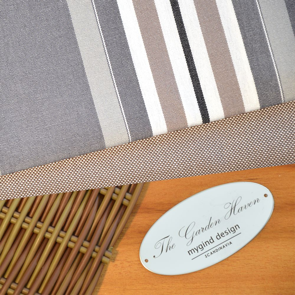 Andalucia Grey Stripe